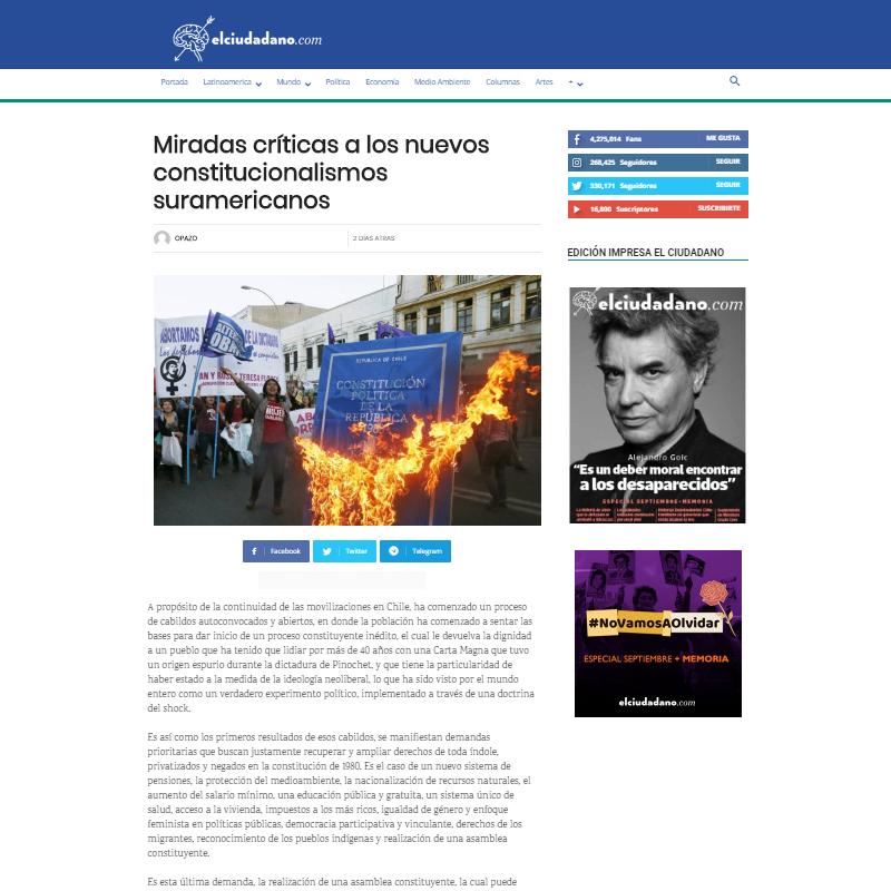 El Ciudadano Andrés Kogan Valderrama