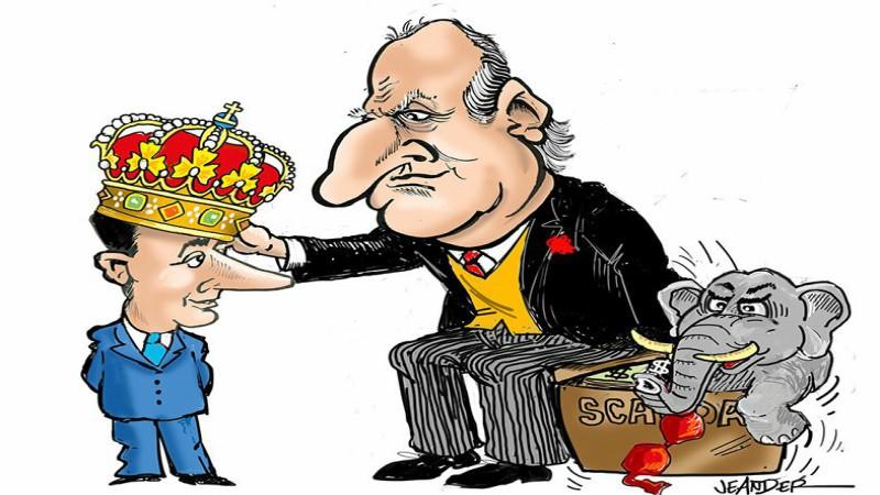 Atawallpa Oviedo Freire: El rey corrupto y los súbditos lameculos -  OPLAS.org
